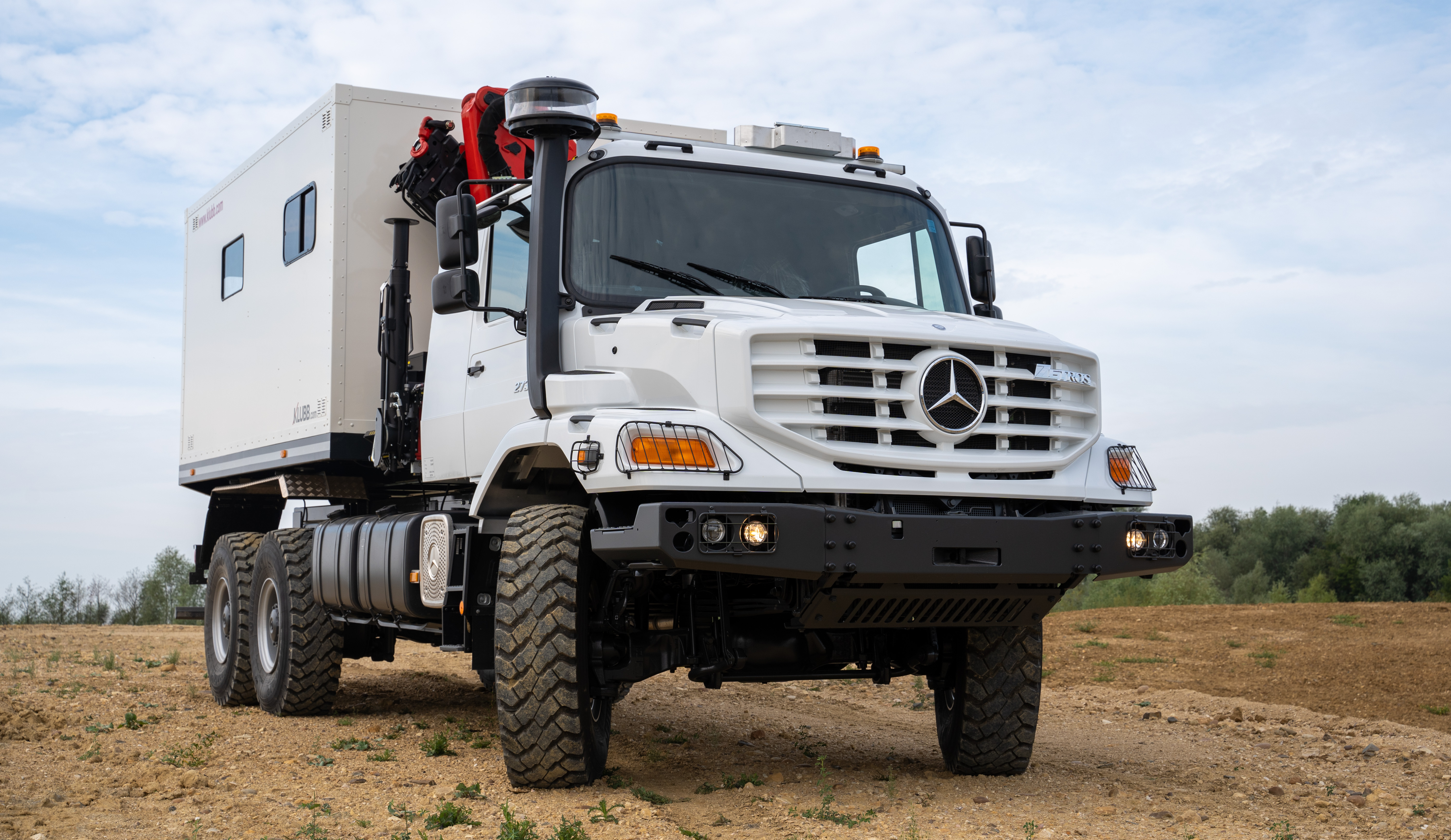 Mercedes Zetros - Mobile Workshop Version EGI KLUBB GROUP