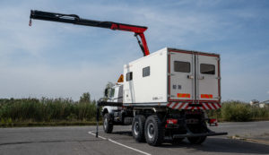 Mercedes Zetros - Mobile Workshop Version EGI KLUBB GROUP